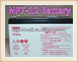 NP7-12 12V 7Ah 20HR Valve Regulated Lead Acid Battery