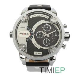 NEW Dual Core Watches Men Oversize Over Size JP Japan Quartz Sports Mens Wrist Watch