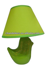 Stylish new ceramic lamp base birds, colors can be customized
