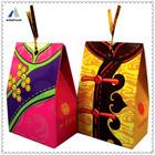 Mountain paper folding mini luxury bride and groom candy box wedding