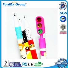 Traffic Light Rhinestone Cheap Ballpoint Pen Manufacturer