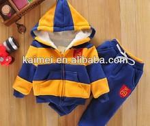 Lovely Kids zipper long sleeve custom hoody kids hoodies for winter wear cute strip children hoody