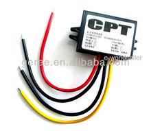 Dc convertisseur dc module à 5v 5a/25w 24v/12v régulateur de tension de sortie, conduit de voiture adaptateur secteur