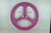 China factory!!3 spoke bike wheels clincher/tubular 3k glossy 3 spoke bicycle wheel 700c 3 spoke wheel
