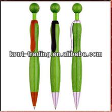 bamboo pen ball top metal clip ballpoint pen cheaper logo pen