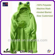 Fleece Blanket With Animal Hood / Plush Blanket For Baby / Plush Blanket Baby Toy