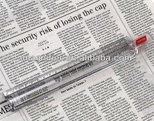 20cm Handheld Transparent plastic advertising Bar magnifying glass ruler