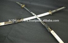 Não. 6 samurai da espada japonesa( samurai japonês traje cosplay de armadura& capacete espadas antigas)