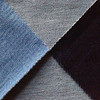 hot sale four way spandex indigo jersey knit denim jeans fabric buyers