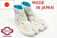 wamon ninja samurai traje feito no japão sapatos botas tabi sapatilhas de lona de algodão estampado de tecido