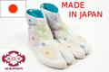 Wamon ninja samurai inuyasha traje por en japón zapatos tabi botas de zapatillas de lona imprimió la tela de algodón