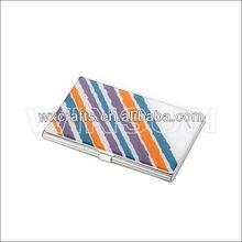 name brand card holder/aluminum nane card holder