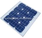 VDE IEC, CSA-UL 35W mono solar panel
