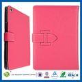 C & T rosado Popular de la pu de la carpeta de cuero de la tableta para el ipad 5