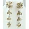 sterling silver 925 earrings jewelry wholesale Indian Women silver jewelry