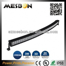 China manufacturer 288W off road curved led light bar quality and affordable Toyota land cruiser 4x4