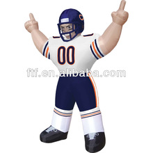 inflatable football player/giant standing inflatable NFL player for promotion/inflatable player for wholesale