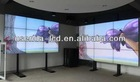 High quality cheap price 47 inch hd exhibition DID splicing led tv background wall for indoor with SNB 6.3mm and 4.9mm