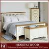 wood bedroom furniture-white modern design oak 5ft slatted wood bed