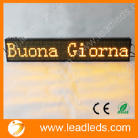 Sample Accepted Professional Electric Manufacture P10 led running message display sign