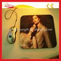 Alta calidad Durable de Color personalizado almohadilla de ratón de impresión de fotos