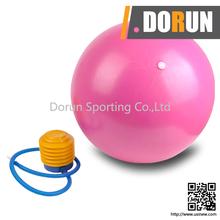 "Pack of 2 New Pilates Yoga 8"" Blue Ball Fitness over ball bender Medium 65cm Gaiam Total Body Balance Workout Exercise Ball Kit"