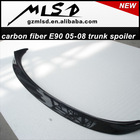 high quality carbon fiber/pp/fibe glass 05-08 E90 auto parts trunk rear spoiler