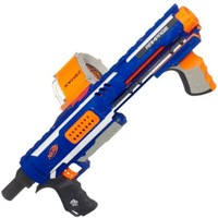 Nerf N-Strike Raider Rapid Fire CS-35 Dart Blaster - Blue toy guns for kids