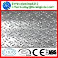 hot vente de plancher en acier aluminium damier plaque