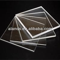 High transparent hard plastic cast flexible clear plastic sheets