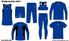 2014การออกแบบใหม่ที่มีคุณภาพสูงการบีบอัดสวมออกกำลังกายที่กำหนดเอง