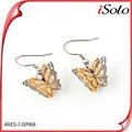 de joyas de oro tapas de oro pendiente de la mariposa diseños de oreja de oro diseños de tapas