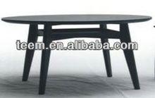 2014 new design dining room furniture set round pedestal dining table E-30