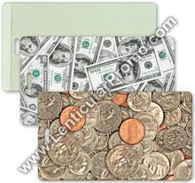 Luggage Lenticular Travel 3D Tag Bank Coins Dollar Bills Gift Custom Promotional Souvenir PVC Vinyl