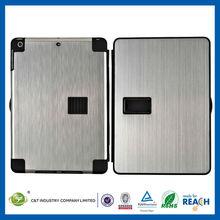 C&T High quality hard aluminum for ipad air customized case