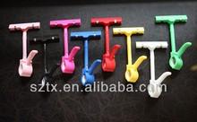 Caliente promocional etiqueta de precio titular de plástico