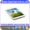 Cheapest 7.85 inch dual core dual sims android 3g tablet mobile phone calling