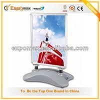 Crystal LED Snap Frame Poster Board,Light Up Poster Flip frame