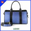 Elegant design genuine crocodile leather handbag