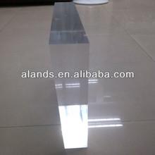 Flexible hard plastic cast decorative acrylic sheet