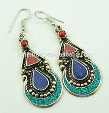 Tibetan Beautiful Earring Jewelry, Vintage Earring, Jewellery