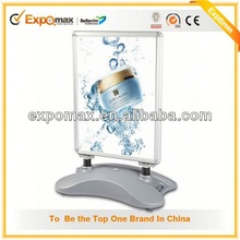 High quality led shop acrylic poster menu board