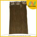 Baratos 100% clip cabelo humano na extensão do cabelo