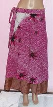 Silk Wrap skirts