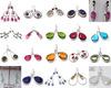 925 sterling silver jewelry wholesale semi precious earrings