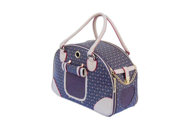 Small Dogs Elegant PVC Bag Pet Travel Carrier