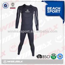 economic full surf man surf fabric neoprene smooth skin wetsuit