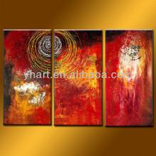 Wholesale 100% handmade decorative oil painting group