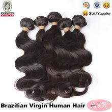 Natural Black Grade 5a Body Wave Remy Brazilian Virgin Hair Unprocessed Virgin Brazilian Human Hair Weaves Extension