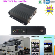 3G dual SD card DVR with GPS tracking for Taxi,bus,truck ,vehicle,car with g-sensor/alarm system/voice conversation